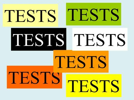 TESTS. Worum es geht Man möchte testen, ob eine bestimmte Annahme (Hypothese) über Parameter der Realität entspricht oder nicht. Beobachtung (Stichprobe)